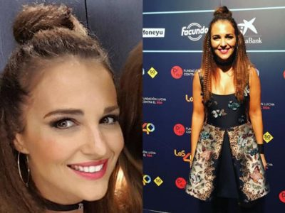 Paula Echevarría, peinado rock en Los 40 Music Awards 2016