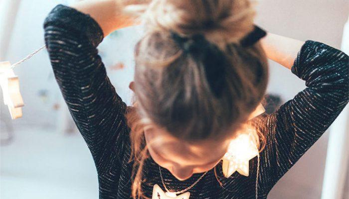 Peinados para niñas de Navidad, sencillos y con estilo