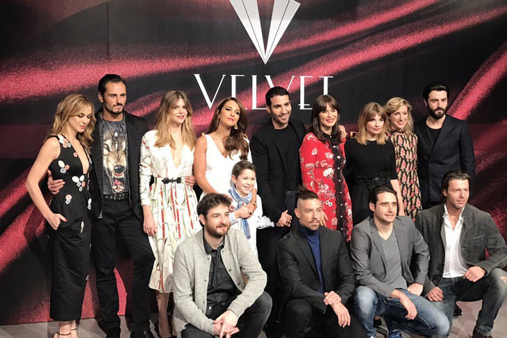 Velvet Final, lo mejor del photocall con los protagonistas