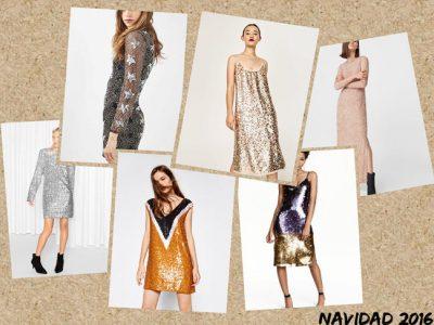 Vestidos de lentejuelas para Nochevieja 2016, ¡brilla con estilo!