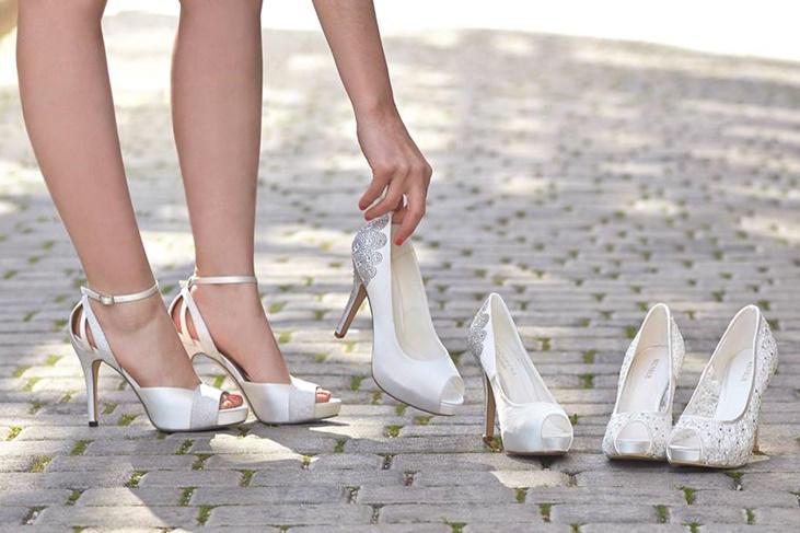 zapatos de novia baratos 2017, los mejores modelos low cost [fotos