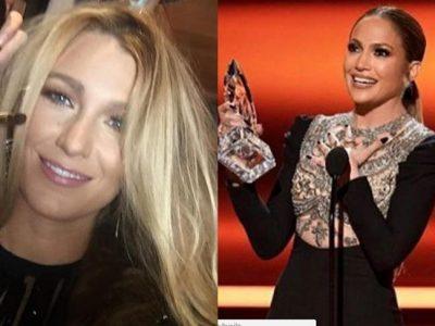 Blake Lively y Jennifer Lopez duelo de estilo en los PCA 2017