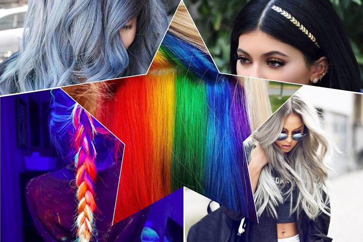 Color de pelo 2017, ¡las tendencias más originales!