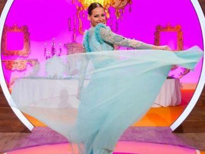 Eva González look de princesa Frozen en la final de MasterChef Junior