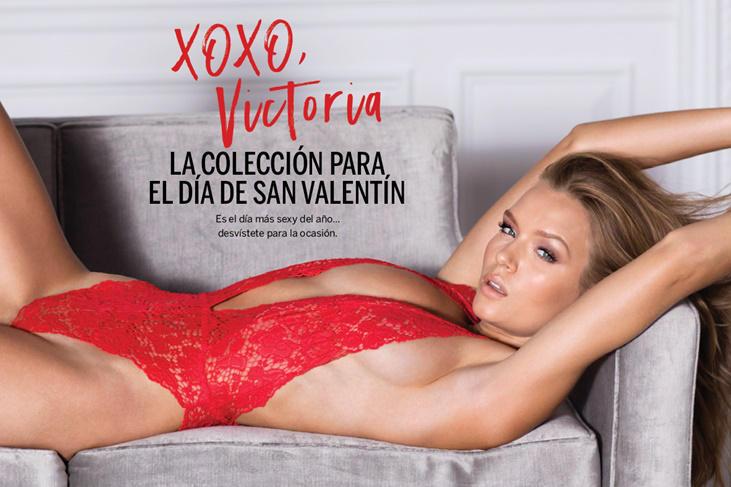 Lencería Victoria's Secret San Valentín 2017, propuestas sensuales