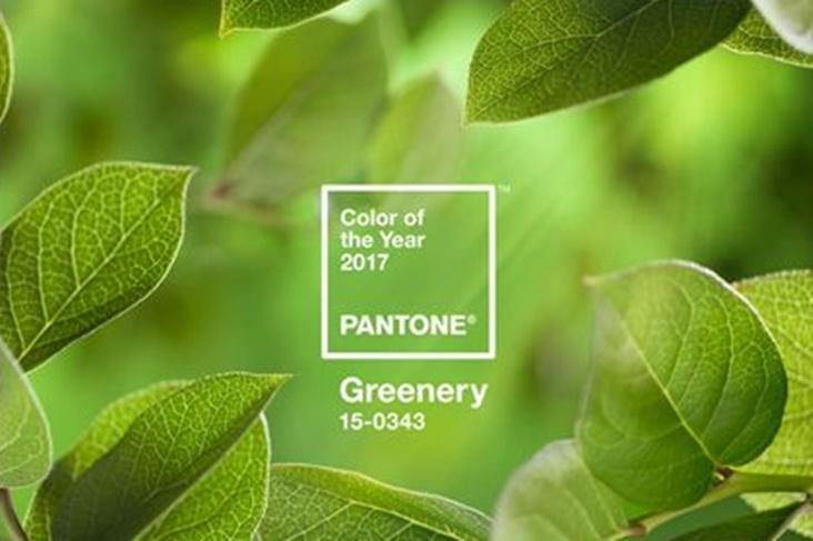 Pantone 2017 Greenery es el color del año