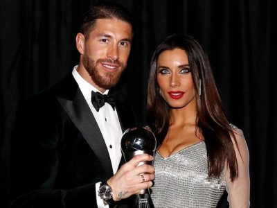 Pilar Rubio deslumbra con su look plateado en la gala FIFA The Best