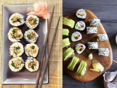 Sushi vegetariano: Recetas ideales para mantener la línea