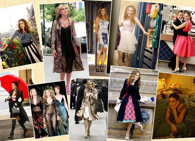 Los 10 mejores looks de Carrie Bradshaw