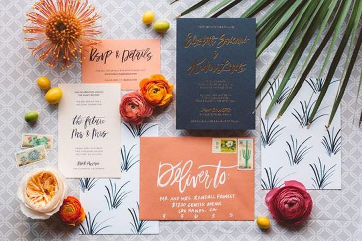Invitaciones de boda, las tendencias de 2017