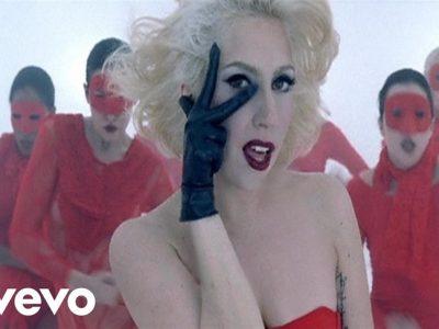 Los 5 vídeos más vistos de Lady Gaga