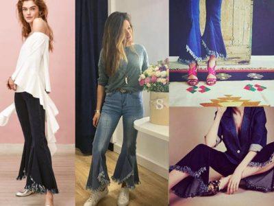 Pantalones con volantes en el bajo, Sara Carbonero ya los tiene, ¿tú?