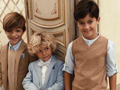 Trajes de ceremonia para niños 2017, elegantes y con estilo