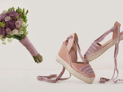 Zapatos de novia cómodos 2017, perfectas y originales