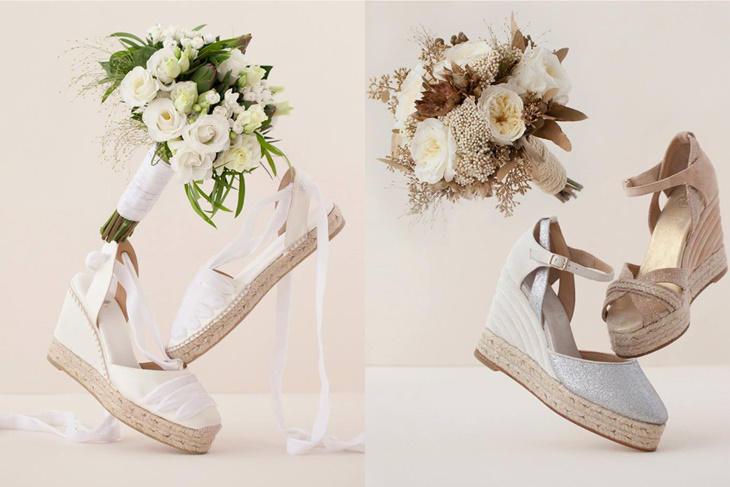 Alpargatas para novia 2017, cómoda sin perder estilo