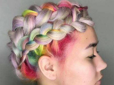 Color de pelo 2017, ¿te animas con la Rainbow Roots?