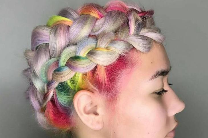 Color de pelo 2017, ¿te animas con la Rainbow Roots?