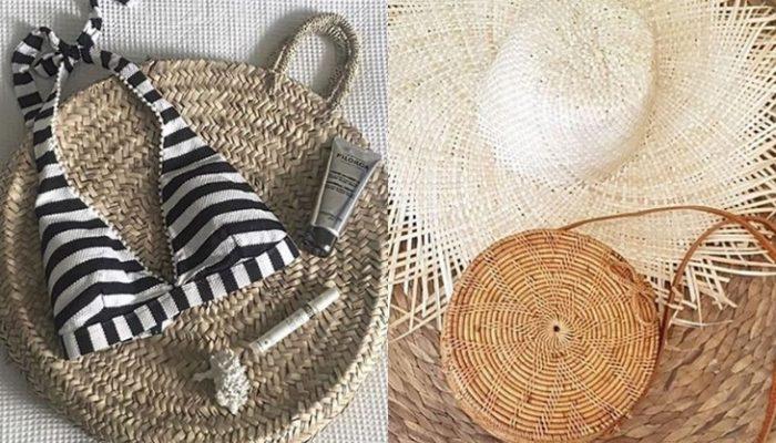Bolso de paja circular, ¡el it-bag del verano 2017!