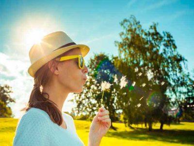 5 trucos para combatir los síntomas de alergia al polen