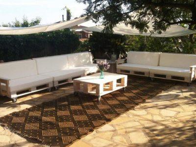 Decoración con palets de madera para jardín, ¡las mejores ideas!