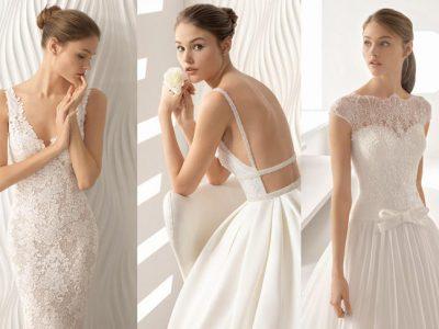 Rosa Clará vestidos de novia 2018, colección llena de elegancia