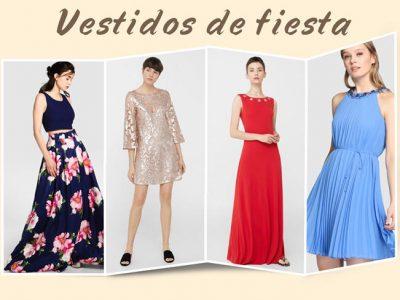 Vestidos de fiesta para bodas 2017 por menos de 100€