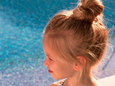 Peinados para niñas en verano, ¡sencillos y cómodos!
