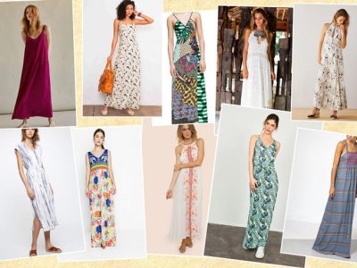 Vestidos largos verano 2017, ¡10 modelos para triunfar!