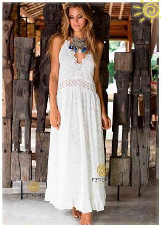 Vestidos largos verano 2017: Fetiche Suances
