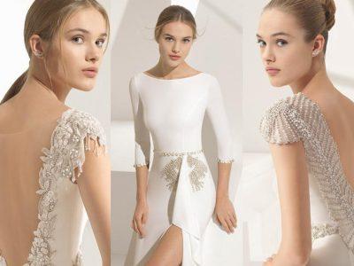 Vestidos de novia Rosa Clará Couture 2018, colección de alta costura