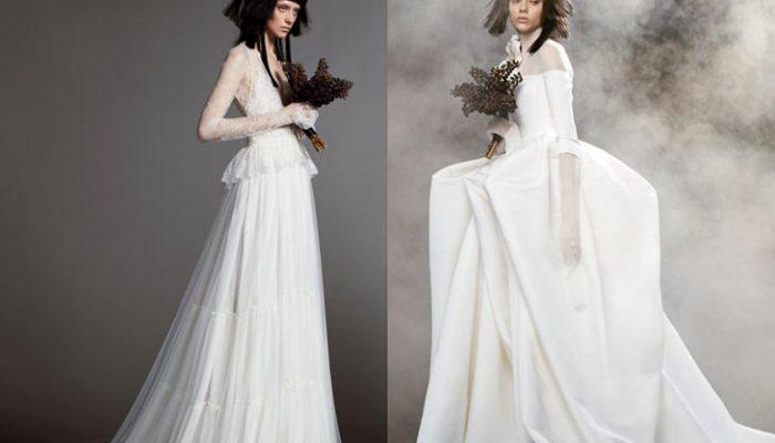 Vestidos de novia Vera Wang 2018, una colección diferente
