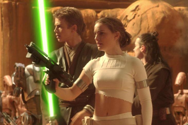 Las parejas de famosos con menos química del cine: Natalie Portman y Hayden Christensen