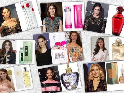 Los perfumes favoritos de las famosas, ¿cuáles son?