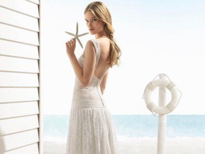 Vestidos de novia Aire Barcelona Beach Wedding 2018, ¡enamórate!