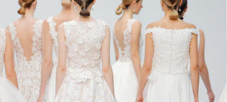 Vestidos de novia Hannibal Laguna 2018, colección Silkgarden