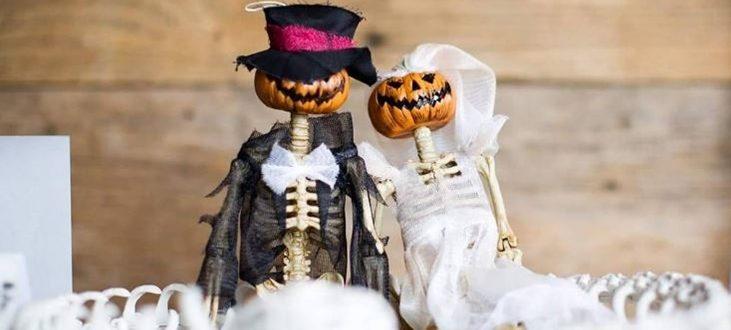 Bodas en Halloween, ¿te atreves o te aterras?