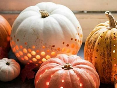 Calabazas de Halloween originales y chic, ¡ficha estas ideas!