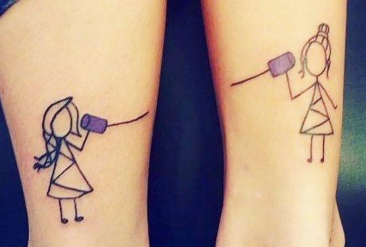 Tatuajes para mejores amigas, ¡5 ideas para copiar!
