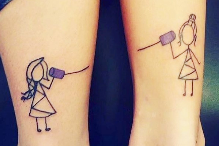 Tatuajes Amigas tatuajes para mejores amigas, ¡5 ideas para copiar! - mujeralia