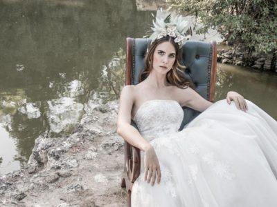 Tocados y diademas para novias 2018, la ideal colección de Mibúh