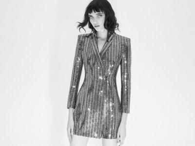 Vestidos de lentejuelas Zara 2017, ¡empieza a brillar para fiestas!