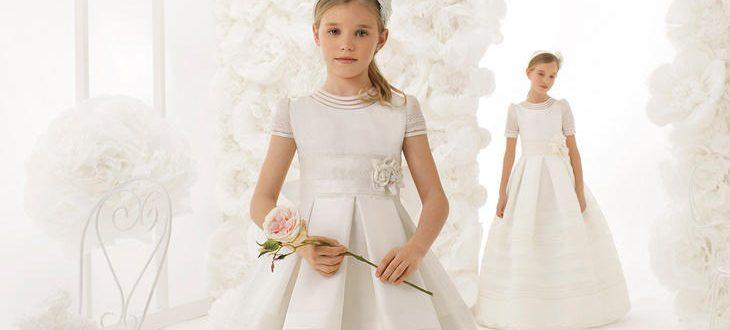 Vestidos de Comunión Rosa Clará 2018, ¡te traemos toda la colección!