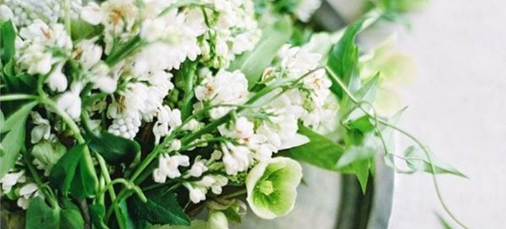 Ramos de novia de flores silvestres, la tendencia del 2018
