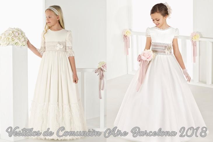Fabricantes de vestidos de comunion en barcelona