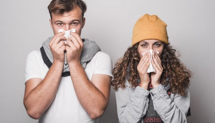 diferenciar resfriado de alergia