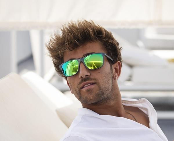 Hudson Glasses: Modelo hombre