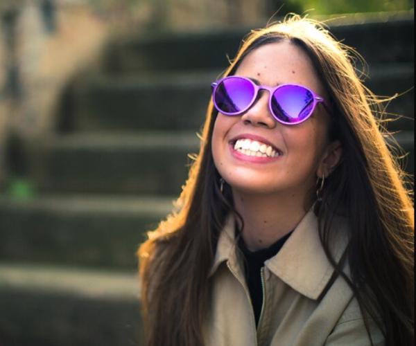 Hudson Glasses: Modelo morado