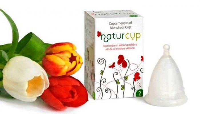 Copa Menstrual Naturcup, una de las copas más vendidas en España