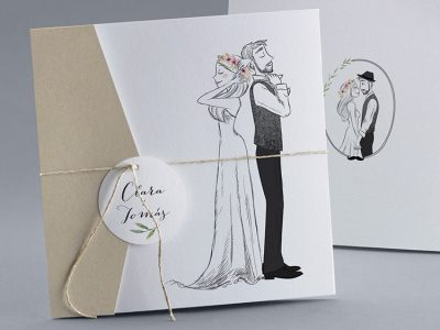 Invitaciones de boda, diferentes estilos para cada pareja