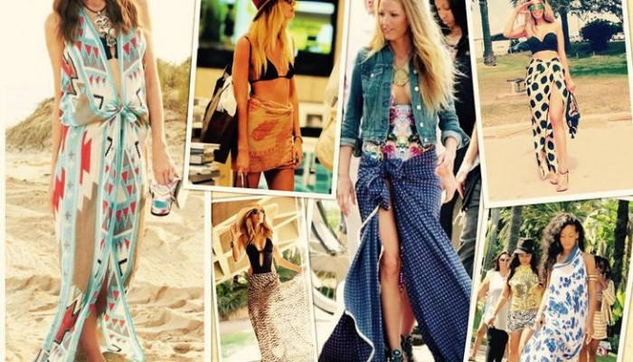 Pareos de playa: consigue tu look chic este verano